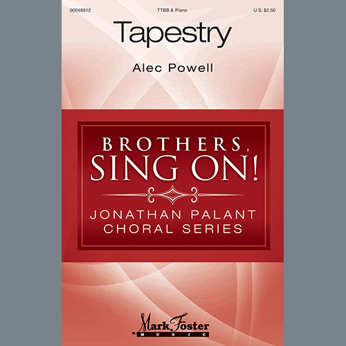 Easily Download Alec Powell Printable PDF piano music notes, guitar tabs for TTBB Choir. Transpose or transcribe this score in no time - Learn how to play song progression.