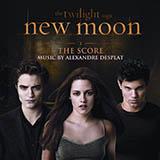 Download Alexandre Desplat 'New Moon' Printable PDF 5-page score for Film/TV / arranged Piano Solo SKU: 91756.
