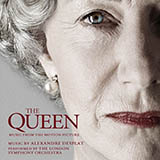 Download or print Alexandre Desplat People's Princess I/Elizabeth & Tony (from The Queen) Sheet Music Printable PDF 6-page score for Film/TV / arranged Piano Solo SKU: 38289.