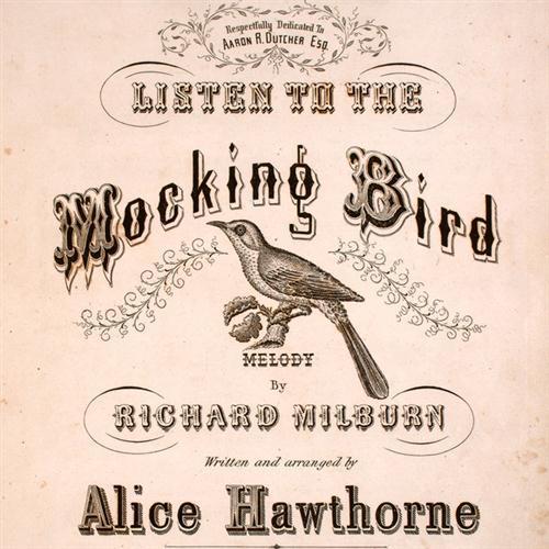 Alice Hawthorne, Listen To The Mocking Bird, Easy Piano