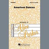 Download or print Alice Parker American Dances (Collection) Sheet Music Printable PDF 21-page score for Folk / arranged 2-Part Choir SKU: 475732.