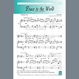 Download Allan Robert Petker 'Peace to the World' Printable PDF 8-page score for Concert / arranged SATB Choir SKU: 450961.