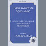 Download or print American Folk Hymn How Can I Keep From Singing (arr. Ronald Staheli) Sheet Music Printable PDF 12-page score for A Cappella / arranged SATB Choir SKU: 448508.