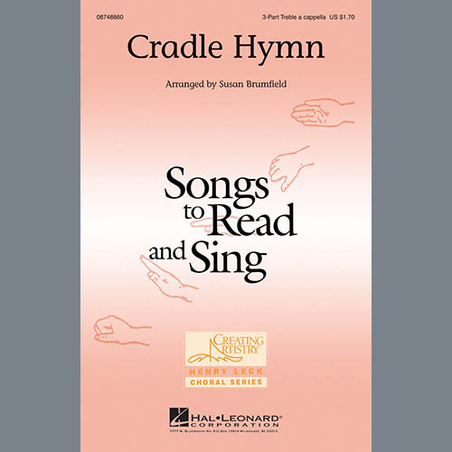 Easily Download American Hymn Tune Printable PDF piano music notes, guitar tabs for 3-Part Treble Choir. Transpose or transcribe this score in no time - Learn how to play song progression.