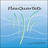 Download Andrew Balent 'Classical Flexquartets - Eb Instruments' Printable PDF 22-page score for Classical / arranged Woodwind Ensemble SKU: 404484.
