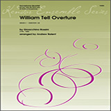 Download Andrew Balent 'William Tell Overture - Full Score' Printable PDF 4-page score for Concert / arranged Woodwind Ensemble SKU: 354216.