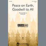 Download or print Andrew Parr Peace On Earth, Goodwill To All Sheet Music Printable PDF 6-page score for Festival / arranged 2-Part Choir SKU: 497098.