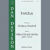 Download or print Andy Marshall Invictus Sheet Music Printable PDF 5-page score for Inspirational / arranged SATB Choir SKU: 424495.