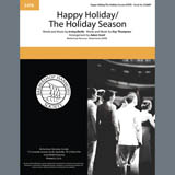Download or print Andy Williams Happy Holiday/The Holiday Season (arr. Adam Scott) Sheet Music Printable PDF 8-page score for Barbershop / arranged TTBB Choir SKU: 407174.