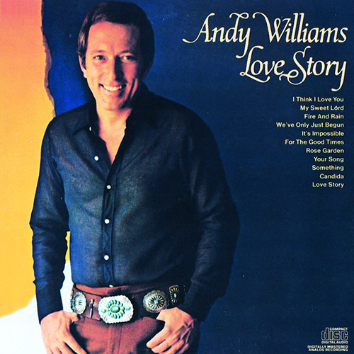 Easily Download Andy Williams Printable PDF piano music notes, guitar tabs for Tenor Sax Solo. Transpose or transcribe this score in no time - Learn how to play song progression.
