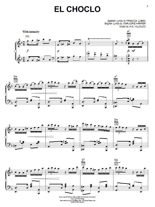Angel Villoldo 'El Choclo' Sheet Music Notes, Chords | Download Printable  String Solo - SKU: 362319