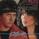 Download or print Ann Wilson & Mike Reno Almost Paradise (from Footloose) Sheet Music Printable PDF 3-page score for Pop / arranged Easy Ukulele Tab SKU: 502107.