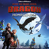 Download Anthony Willis 'Memories From The Hidden World (from How To Train Your Dragon: Homecoming)' Printable PDF 1-page score for Film/TV / arranged Easy Piano SKU: 448490.
