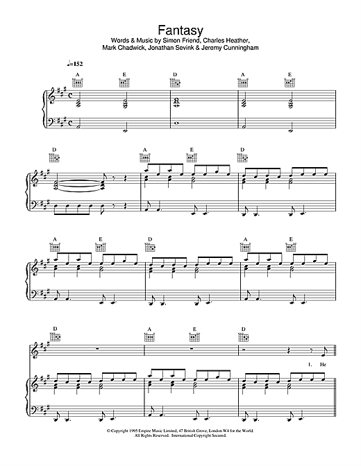 Appleton Fantasy sheet music notes and chords. Download Printable PDF.