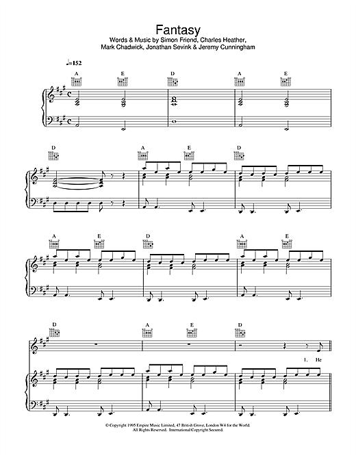 Appleton Fantasy sheet music notes and chords