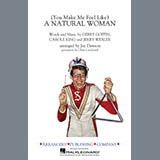Download or print Aretha Franklin (You Make Me Feel Like) A Natural Woman (arr. Jay Dawson) - Alto Sax 1 Sheet Music Printable PDF 1-page score for Love / arranged Marching Band SKU: 403596.