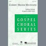 Download or print Aretha Franklin Climbin' Higher Mountains (arr. Kirby Shaw) Sheet Music Printable PDF 11-page score for Gospel / arranged SAB Choir SKU: 410575.