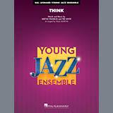 Download Aretha Franklin 'Think (arr. Paul Murtha) - Trumpet 3' Printable PDF 2-page score for Soul / arranged Jazz Ensemble SKU: 408322.
