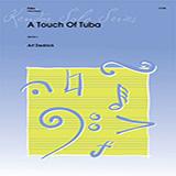 Download or print Art Dedrick A Touch Of Tuba - Tuba Sheet Music Printable PDF 1-page score for Jazz / arranged Brass Solo SKU: 368794.