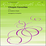 Download Art Dedrick 'Chopin Favorites - Full Score' Printable PDF 4-page score for Classical / arranged Woodwind Ensemble SKU: 339385.