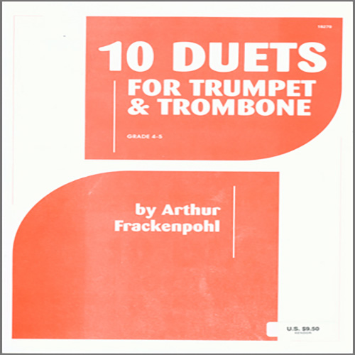 Easily Download Arthur Frackenpohl Printable PDF piano music notes, guitar tabs for Brass Ensemble. Transpose or transcribe this score in no time - Learn how to play song progression.