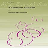 Download or print Arthur Frackenpohl Christmas Jazz Suite - 1st Bb Trumpet Sheet Music Printable PDF 3-page score for Christmas / arranged Brass Ensemble SKU: 351484.