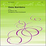 Download or print Arthur Frackenpohl Gesu Bambino - Full Score Sheet Music Printable PDF 3-page score for Christmas / arranged Brass Ensemble SKU: 343128.