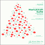 Download or print Arthur Frackenpohl Hanukkah Suite - 1st Bb Trumpet Sheet Music Printable PDF 3-page score for Holiday / arranged Brass Ensemble SKU: 343117.