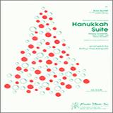 Download Arthur Frackenpohl 'Hanukkah Suite - Full Score' Printable PDF 11-page score for Holiday / arranged Brass Ensemble SKU: 343116.