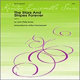 Download or print Arthur Frackenpohl Stars And Stripes Forever, The - Full Score Sheet Music Printable PDF 5-page score for Patriotic / arranged Brass Ensemble SKU: 322312.