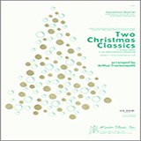 Download Arthur Frackenpohl 'Two Christmas Classics - Eb Alto Saxophone' Printable PDF 2-page score for Christmas / arranged Woodwind Ensemble SKU: 340946.