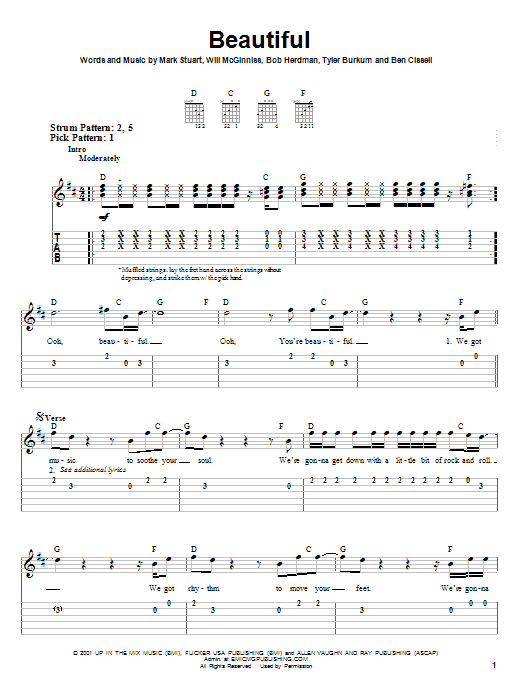 Audio Adrenaline Beautiful sheet music notes and chords. Download Printable PDF.