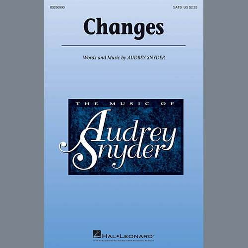 Easily Download Audrey Snyder Printable PDF piano music notes, guitar tabs for SATB Choir. Transpose or transcribe this score in no time - Learn how to play song progression.