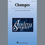 Download Audrey Snyder 'Changes' Printable PDF 13-page score for A Cappella / arranged SATB Choir SKU: 410529.