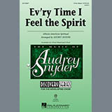 Download African-American Spiritual 'Every Time I Feel The Spirit (arr. Audrey Snyder)' Printable PDF 2-page score for Concert / arranged 2-Part Choir SKU: 150463.