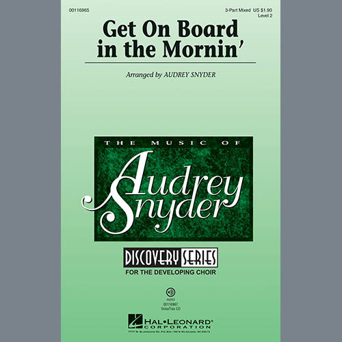Easily Download Audrey Snyder Printable PDF piano music notes, guitar tabs for 3-Part Mixed Choir. Transpose or transcribe this score in no time - Learn how to play song progression.