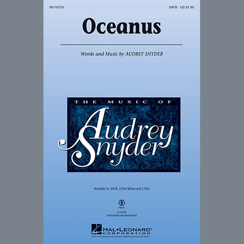 Easily Download Audrey Snyder Printable PDF piano music notes, guitar tabs for Choir Instrumental Pak. Transpose or transcribe this score in no time - Learn how to play song progression.