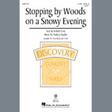 Download or print Audrey Snyder Stopping By Woods On A Snowy Evening Sheet Music Printable PDF 11-page score for Poetry / arranged 2-Part Choir SKU: 431667.