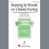 Download Audrey Snyder 'Stopping By Woods On A Snowy Evening' Printable PDF 11-page score for Poetry / arranged 2-Part Choir SKU: 431667.