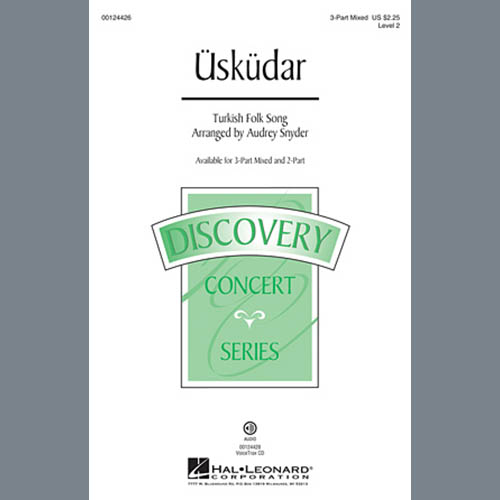 Easily Download Turkish Folksong Printable PDF piano music notes, guitar tabs for 2-Part Choir. Transpose or transcribe this score in no time - Learn how to play song progression.