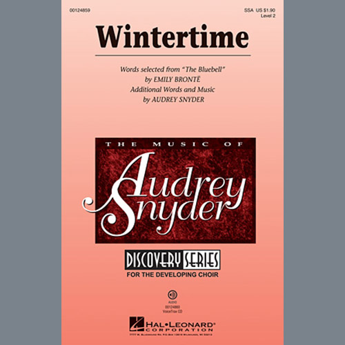 Easily Download Audrey Snyder Printable PDF piano music notes, guitar tabs for SSA Choir. Transpose or transcribe this score in no time - Learn how to play song progression.