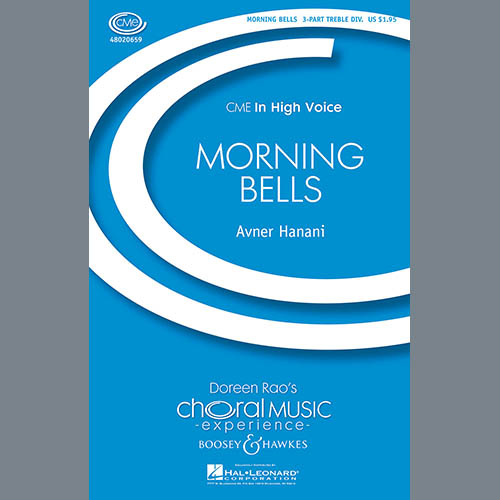 Easily Download Avner Hanani Printable PDF piano music notes, guitar tabs for 3-Part Treble Choir. Transpose or transcribe this score in no time - Learn how to play song progression.