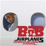 Download or print B.o.B Airplanes (feat. Hayley Williams) Sheet Music Printable PDF 8-page score for Hip-Hop / arranged Piano, Vocal & Guitar (Right-Hand Melody) SKU: 102965.