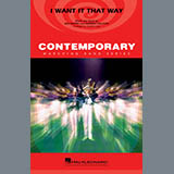 Download Backstreet Boys 'I Want It That Way (arr. Ishbah Cox) - Baritone B.C.' Printable PDF 1-page score for Pop / arranged Marching Band SKU: 410894.