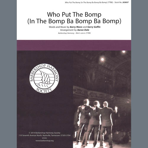 Who Put The Bomp (In The Bomp Ba Bom