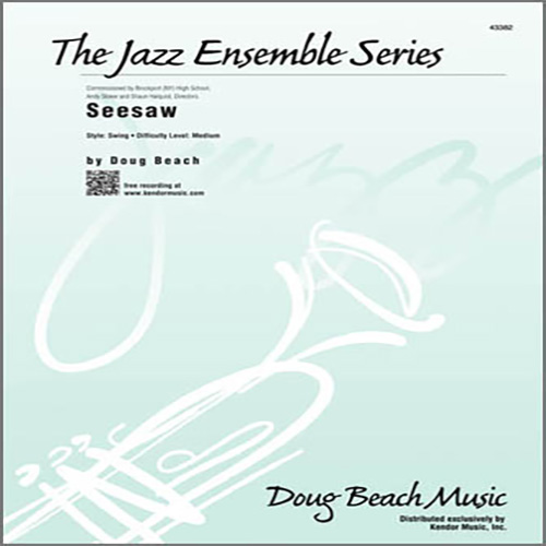 Easily Download Beach Printable PDF piano music notes, guitar tabs for Jazz Ensemble. Transpose or transcribe this score in no time - Learn how to play song progression.