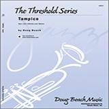 Download Beach 'Tampico - Piano' Printable PDF 4-page score for Latin / arranged Jazz Ensemble SKU: 316837.