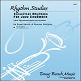 Download Beach, Shutack 'Essential Rhythms For Jazz Ensemble - Eb Instruments' Printable PDF 4-page score for Classical / arranged Jazz Ensemble SKU: 315283.