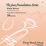 Download Beach, Shutack 'Final Drive - Trumpet 1' Printable PDF 2-page score for Classical / arranged Jazz Ensemble SKU: 315261.