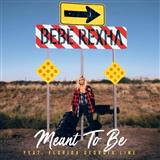 Download or print Bebe Rexha Meant To Be (feat. Florida Georgia Line) Sheet Music Printable PDF 7-page score for Pop / arranged Piano, Vocal & Guitar (Right-Hand Melody) SKU: 197099.